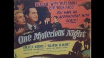 Boston Blackie One Mysterious Night 1944 DVD - Chester Morris / Janis Carter